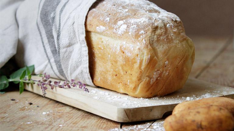 وصفة خبز البطاطس