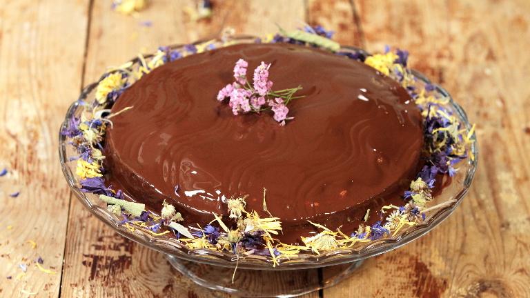 كيكة الشوكولاتة خالية من الجلوتين