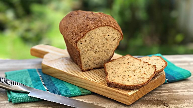 وصفة خبز الحبوب الكاملة خالي من الجلوتين