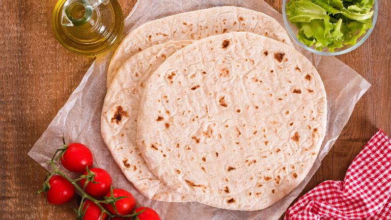 وصفة خبز التورتيلا خالي من الجلوتين
